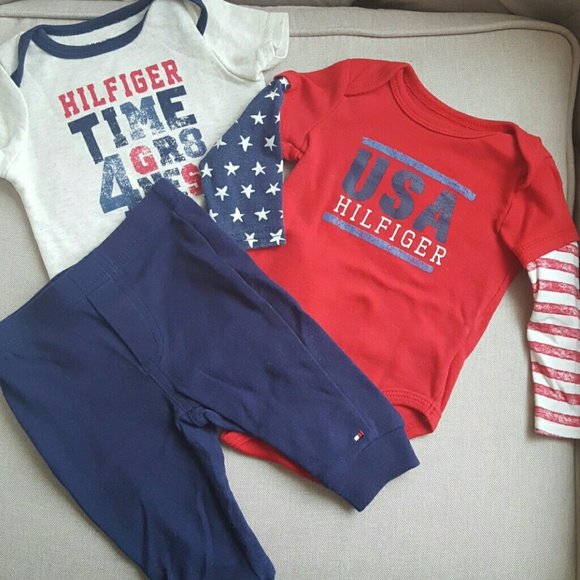 3234388bd Tommy Hilfiger Matching Sets | 36 Month Baby Boy Outfit | Poshmark